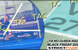 Black Friday 2020: ¡Ya queda menos para conocer las ofertas de pádel!