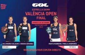 En directo las finales del Estrella Damm Valencia Open 2020