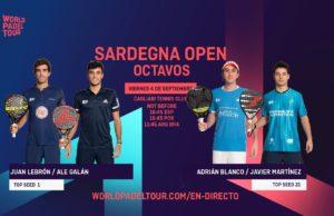 En directo los octavos de final masculinos del Sardegna Open 2020