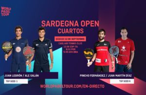 En directo los cuartos de final del Sardegna Open 2020