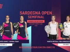 En directo las semifinales femeninas del Sardegna Open 2020