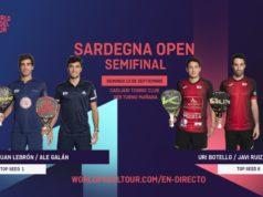 En directo las semifinales masculinas del Sardegna Open 2020