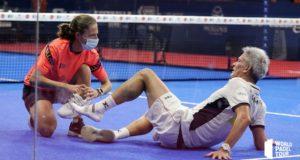 Jugar contra un rival lesionado en pádel