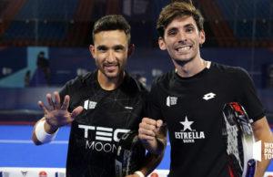 Sanyo y Stupa logran su primer título juntos en el Estrella Damm Menorca Open 2020