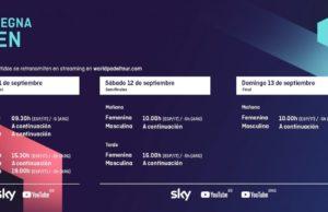 Horarios del streaming del Sardegna Open 2020