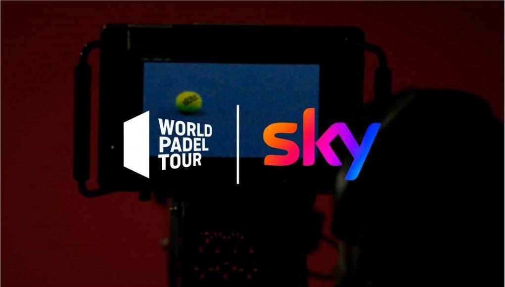 Sky Sport Italia retransmitirá los próximos torneos del circuito World Padel Tour