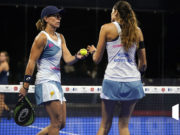 Tercera final seguida para Lucía Sainz y Gemma Triay en el Estrella Damm Barcelona Master 2020