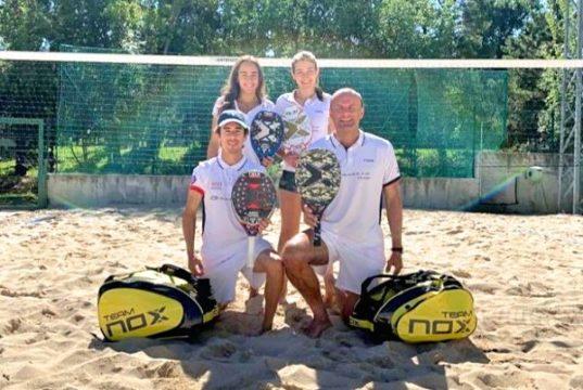 NOX patrocina al equipo que intentará superar el récord Guiness® al partido de Beach Tennis más largo de la historia