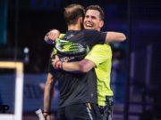 Juan Martín Díaz, junto a Paquito Navarro, se regala la final del Campeonato de España por su cumpleaños