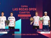 En directo los cuartos de final masculinos del Cupra Las Rozas Open 2020