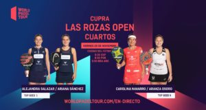 En directo los cuartos de final femeninos del Cupra Las Rozas Open 2020