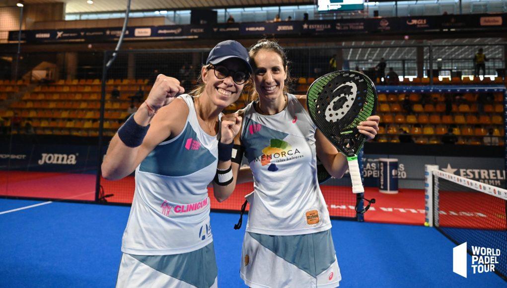 Final y nº1 para Lucía Sainz y Gemma Triay en el Cupra Las Rozas Open 2020