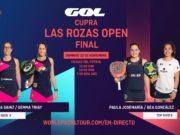 En directo la final femenina del Cupra Las Rozas Open 2020