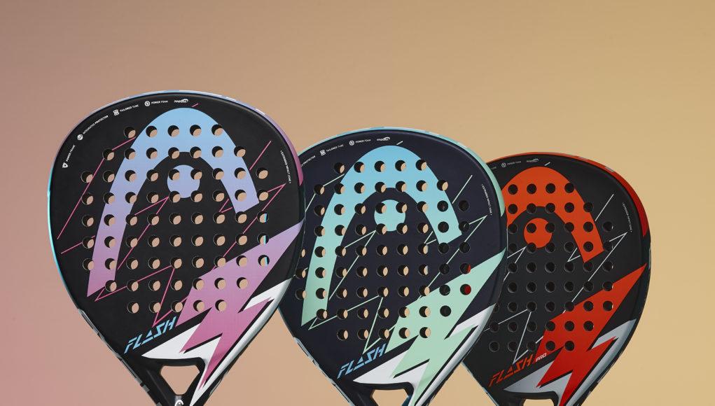 Flash, la nueva serie de palas de HEAD para jugadores principiantes