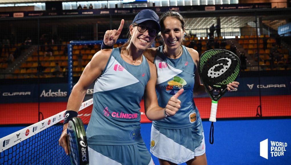 Lucía Sainz y Gemma Triay suman su cuarto título de la temporada en el Cupra Las Rozas Open 2020