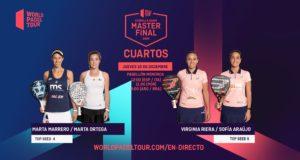 En directo la jornada matinal del jueves de los cuartos de final del Estrella Damm Menorca Master Final 2020