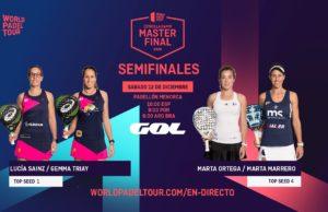 En directo las semifinales del turno de mañana del Estrella Damm Menorca Master Final 2020