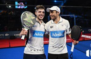 Bela y Tapia repiten final en el Master Final