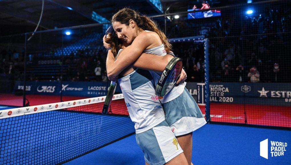 Fin de ciclo de Gemma Triay y Lucía Sainz tras alcanzar el nº1