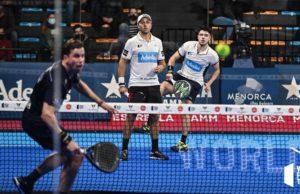 Bela y Tapia completan las semifinales del Estrella Damm Menorca Master Final 2020