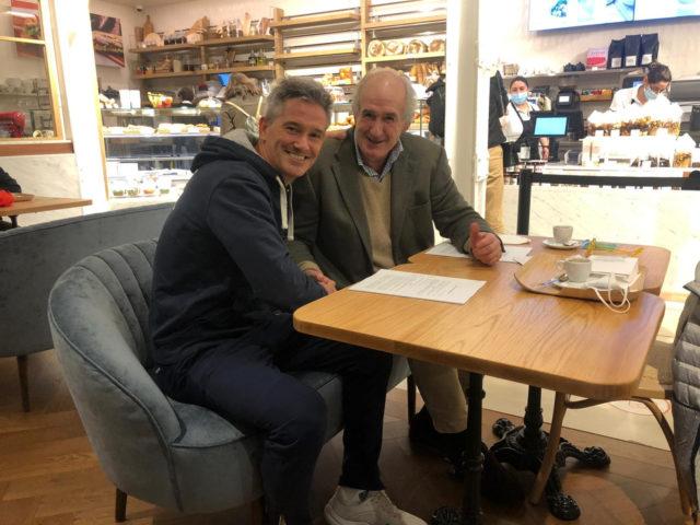 Miguel Lamperti y NOX renuevan su compromiso hasta 2023