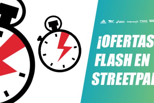 Las mejores ofertas flash solo en StreetPadel