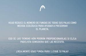 HEAD reduce sus fundas para proteger el medio ambiente