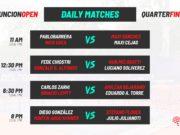 En directo los cuartos de final del Asunción Open