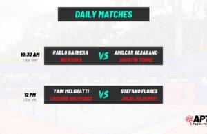 En directo las semifinales del Asunción Open