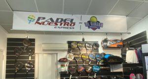 Padel Nuestro Express llega a Valencia con la primera tienda en Alcira