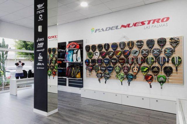Las Palmas de Gran Canaria abre su primera tienda Padel Nuestro