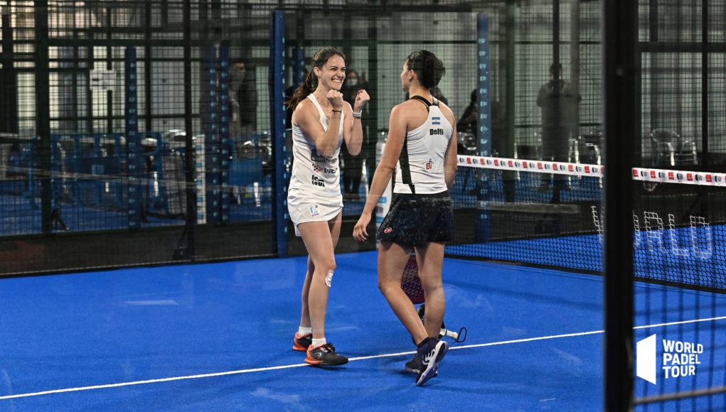 Tamara Icardo y Delfina Brea completan las semifinales femeninas del Adeslas Madrid Open 2021