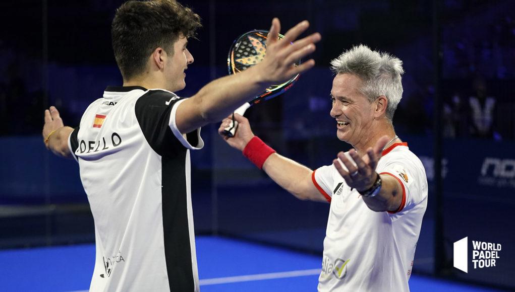 Miguel Lamperti y Arturo Coello jugarán las semifinales del Adeslas Madrid Open 2021