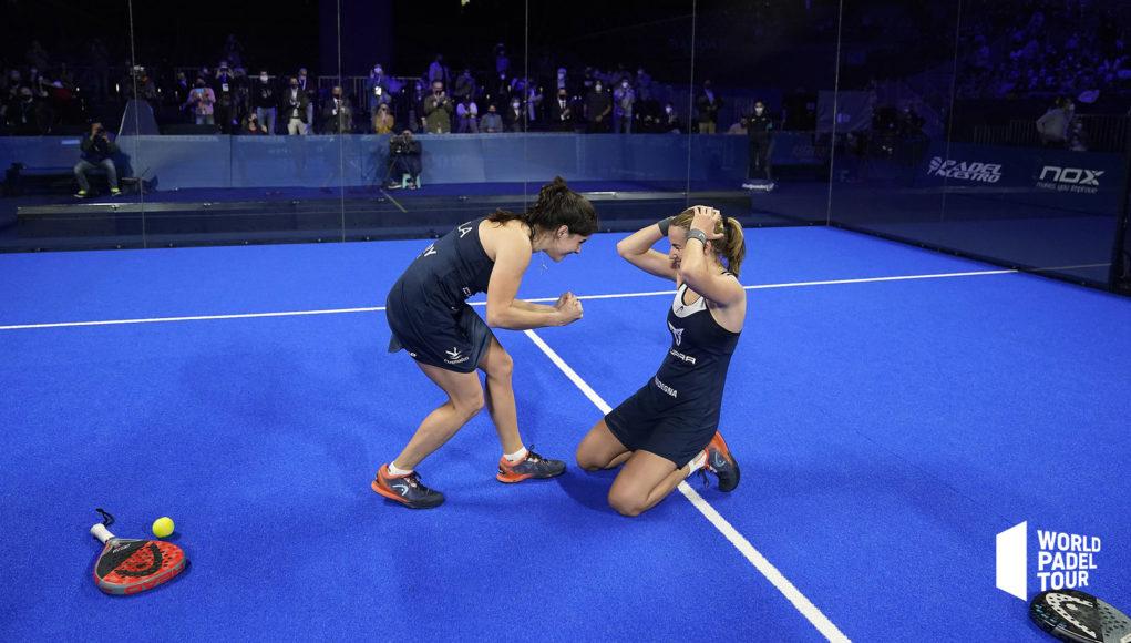 Ariana Sánchez y Paula Josemaría campeonas del Adeslas Madrid Open 2021