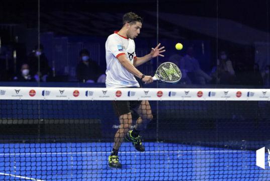 Agustín Tapia protagonista del mejor golpe del Adeslas Madrid Open 2021