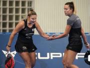 Aranza Osoro y Victoria Iglesias estarán en las semifinales del Estrella Damm Alicante Open tras eliminar a las Martas