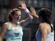 Ariana Sánchez y Paula Josemaría se volverán a ver las caras con Lucía Sainz y Bea González en las semifinales del Estrella Damm Alicante Open 2021