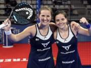 Ariana Sánchez y Paula Josemaría finalistas del Estrella Damm Alicante Open 2021