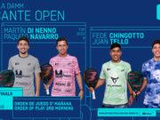 En directo los cuartos de final masculinos del Estrella Damm Alicante Open 2021