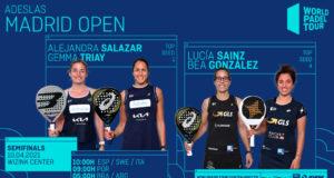 En directo las semifinales del turno de mañana del Adeslas Madrid Open 2021