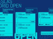 Horarios del streaming del Adeslas Madrid Open 2021