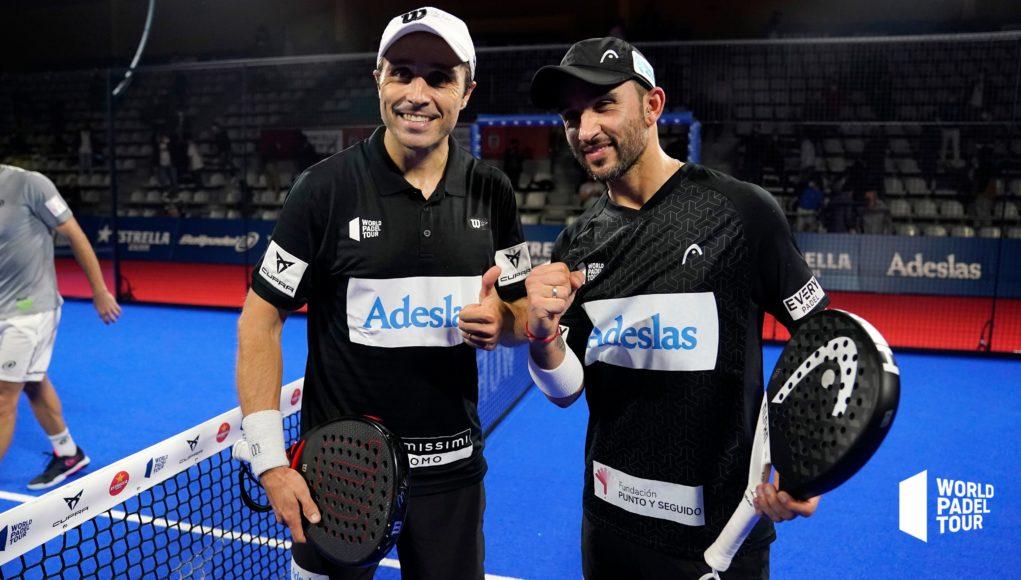 Sanyo Gutiérrez y Fernando Belasteguín jugarán las semifinales del Cupra Vigo Open 2021