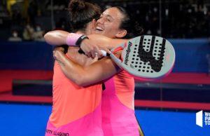 Primera final de la temporada para Patty Llaguno y Virginia Riera en el Cupra Vigo Open 2021