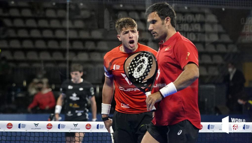 Exhibición de Lima y Tapia para alcanzar las semifinales en el Cupra Vigo Open 2021