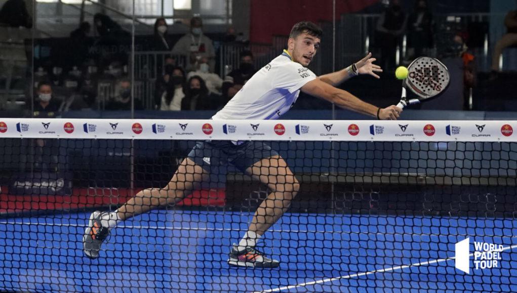 Alejandro Galán, el MVP del Estrella Damm Alicante Open 2021