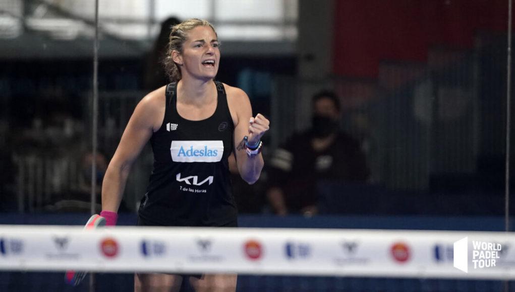 Alejandra Salazar, la MVP del Estrella Damm Alicante Open 2021