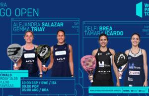 En directo las semifinales del turno de mañana del Cupra Vigo Open 2021
