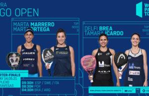 En directo los cuartos de final femeninos del Cupra Vigo Open 2021