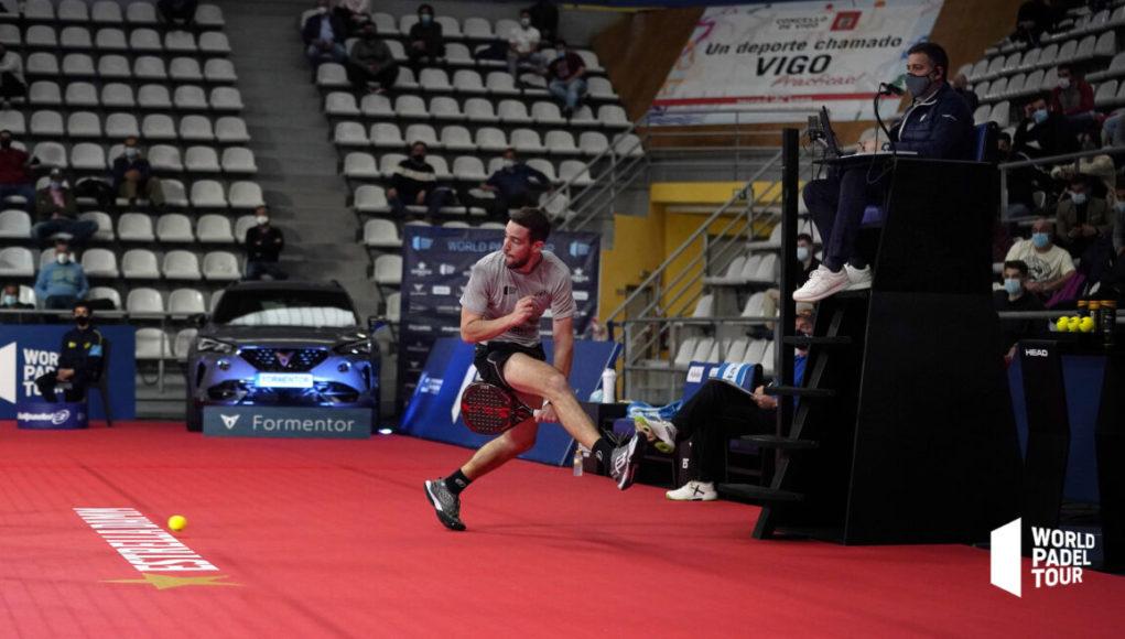Horarios de los cuartos de final del Cupra Vigo Open 2021