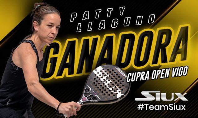 Patty Llaguno, primera jugadora Siux en ganar un Open